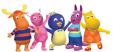 the backyard agains cartoon characters backyardigans png pack