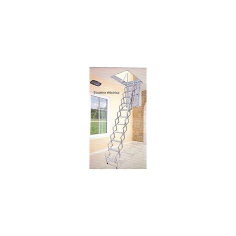 escaleras techo escalera techo el 233 ctrica acorde 243 n acero galvanizado