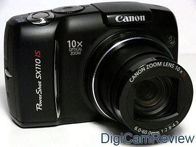 Digicamreview Com Canon Powershot Sx110 Is Digital
