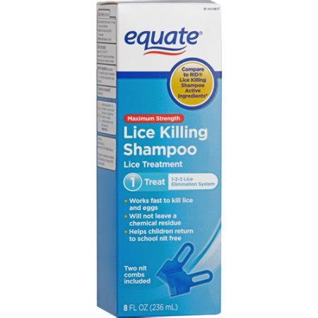 lice shampoo walmart