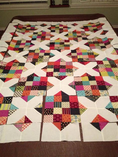 Scrappy Patchwork Quilts - briar free pattern and quilt