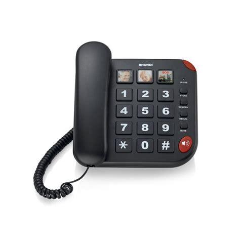 telefoni per ufficio telefono bravo 15 brondi 10273471 ufficio