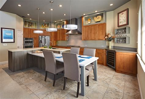 kitchen island with dining table kitchen island with table attached decoration effect and