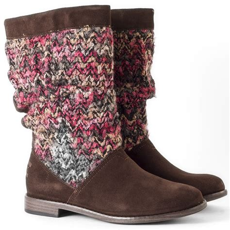 toms serra boot womens boots in brown multicolour