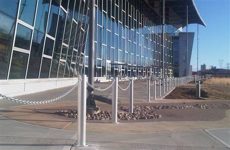 decorative bollards with chain architectural bollards security and design bollards blog