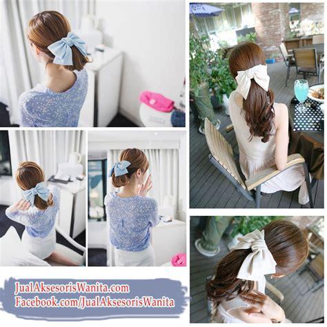 Bando Handuk Pita Kupu Kupu Motif Kepala Kelinci Murah asesoris rambut yang unik jual ikat rambut murah