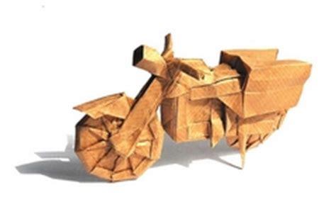 Origami Motorcycle - motorcycle itagaki yuichi gilad s origami page