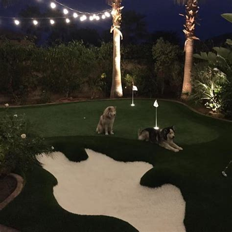 backyard putting green lighting 1000 ideas about backyard putting green on