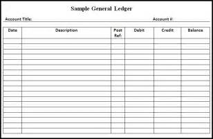 Simple Ledger Template by Monthly Ledger Templates Quotes