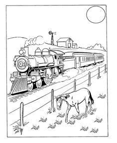 train set coloring page toy train coloring page eletcric train set railroad
