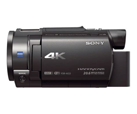 Handycam And sony fdr ax33 4k handycam the awesomer