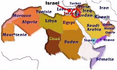 africa map israel factsofisrael page