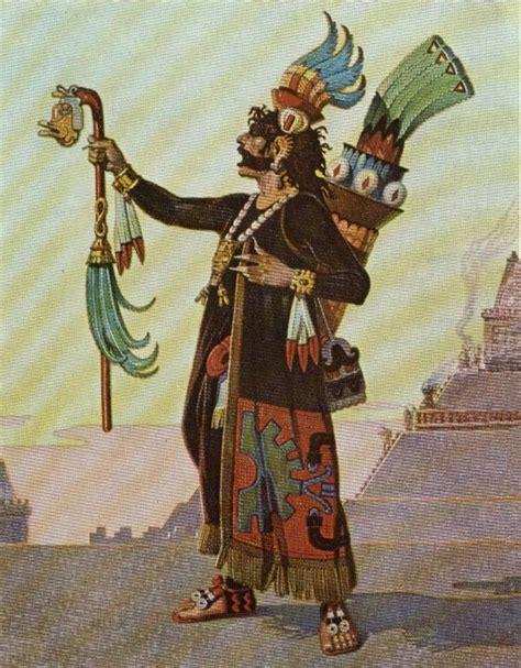 aztec empire witch pci2410 aztec high priest hierophant tarot the hierophant