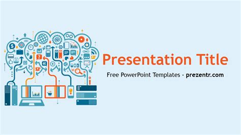Free Big Data Powerpoint Template Prezentr Powerpoint Templates Presentation Templates For Powerpoint