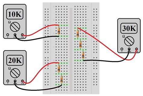 connect resistors on breadboard connect resistors on breadboard 28 images how to connect pot in series with resistor how to
