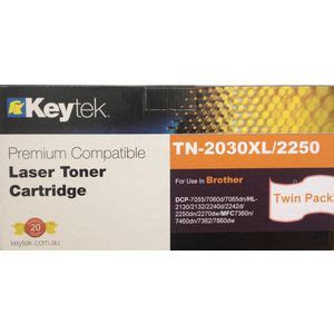 Bro Code Tp keytek alternate tn2250 toner cartridge black 2