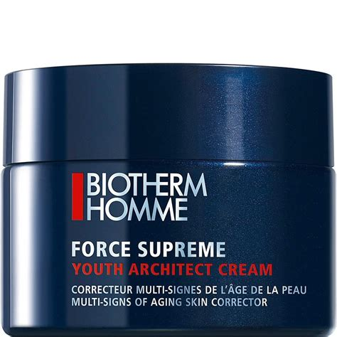 biotherm supreme biotherm homme supreme youth architect multi