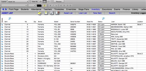 fixed assets register template excel images