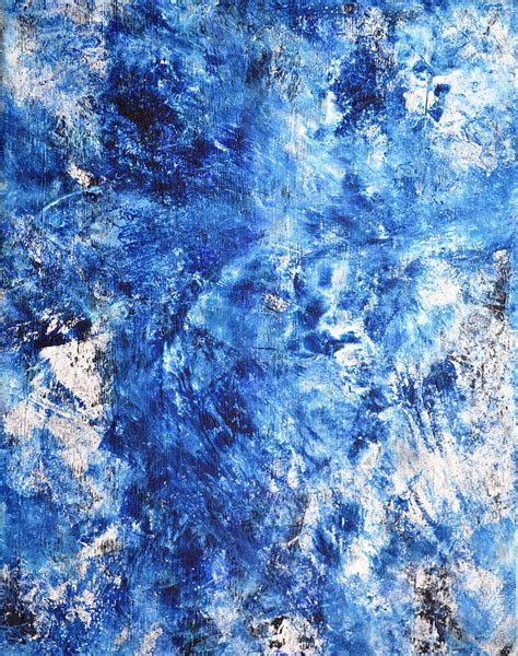 enchanted blue and white abstract stone rock d art by blue and white abstract painting www imgkid com the