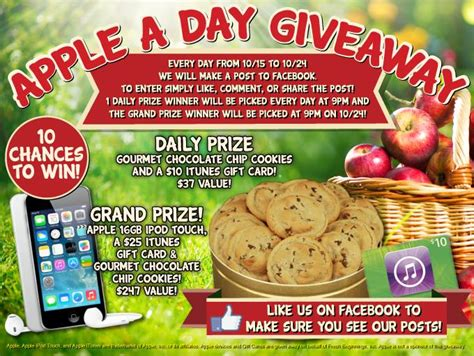 thrifty momma ramblings fresh beginnings apple a day giveaway - Apple A Day Giveaway