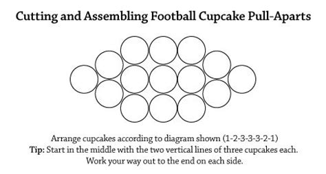 pull apart cake templates 17 best images about cupcake pull a part on