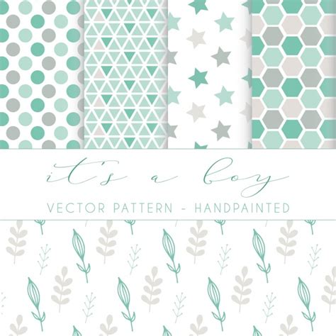 pattern design eps hand painted pattern design vector free download