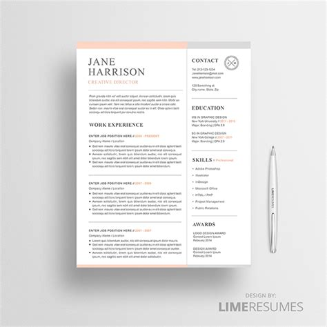 eye catching word resume design how to design an eye catching resume graphicadi