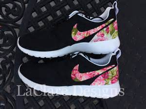 nike flower shoes unavailable listing on etsy