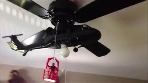 blackhawk helicopter ceiling fan liveleak com the helicopter ceiling fan
