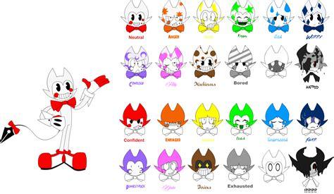 i in color color bendy s color guide by nora kouba on deviantart