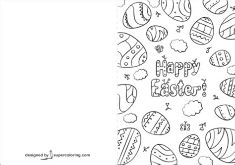 easter card templates to colour handmade quot happy easter cards quot ideas free printable