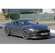 2018 Aston Martin Vanquish S Spied A 600 HP V12 Swansong