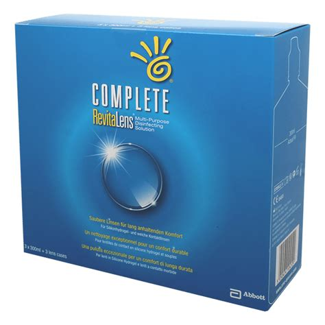Complete Revitalens 300ml complete revitalens 3 x 300ml pflegemittel discountlens de