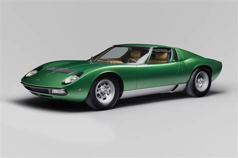 first lamborghini ever made lamborghini completely restored the first miura sv for the