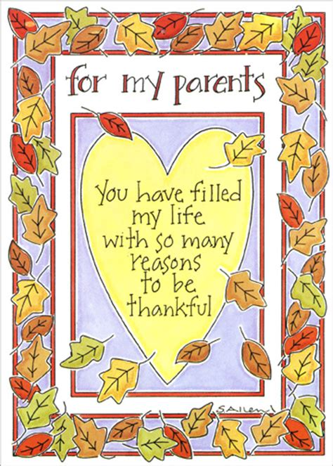 leaf border thanksgiving card  recycled paper