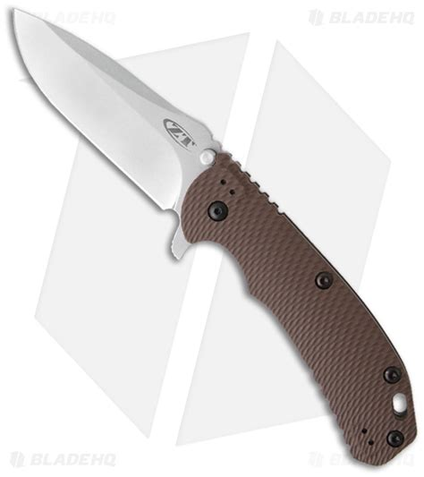 zt knife zero tolerance hinderer 0561 knife earth g10 3 75