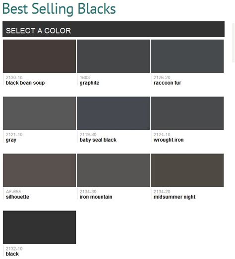 benjamin moore best selling colors by room best selling blacks benjamin moore paint colors