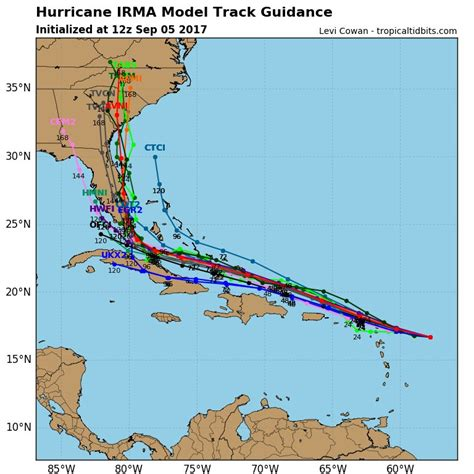 hurricane irma is now larger than ohio setting off