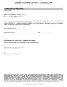 Authorization Letter To Get Passport Best Photos Of Authorization Behalf Sle Notarized
