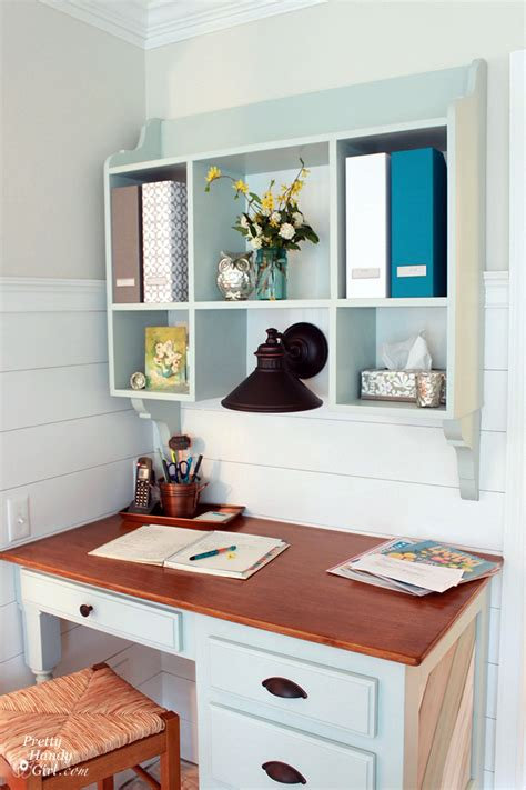 Kitchen Desk With Hutch 25 Dreamy Blue Paint Color Choices Pretty Handy