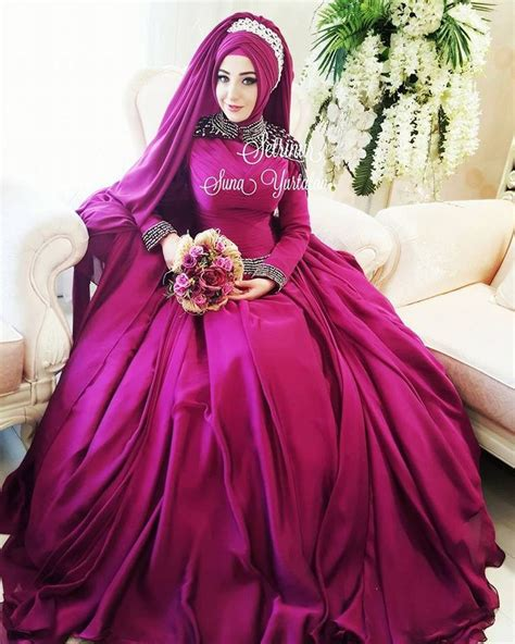 Dress Pesta Gaun Wedding 17 Th Longdress Bridal Hd 1305 Fushia 17 Best Images About Tesett 252 Rl 252 Gelinlik Ni蝓an