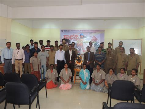 Pg Centre Thrissur Mba by Celebration Of Labour Day Sarathi Pes Institute Of