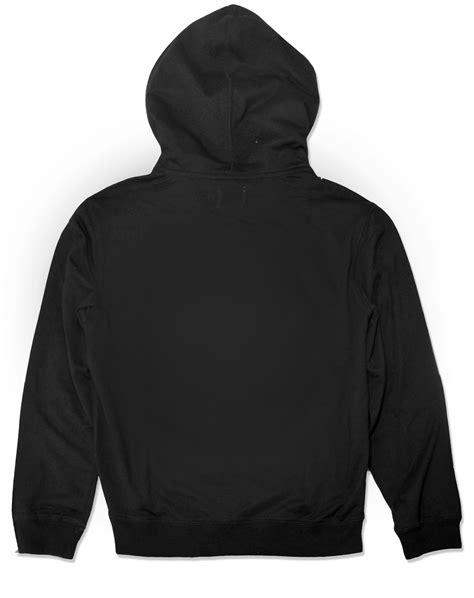 Hodie Black 1 plain hoodies front and back www pixshark images