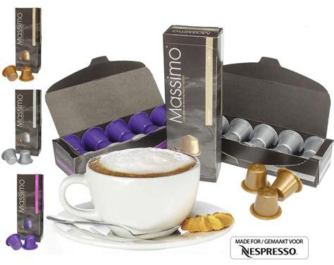 espresso als lungo drinken 100x massimo cups voor je nespresso dagelijkse koopjes