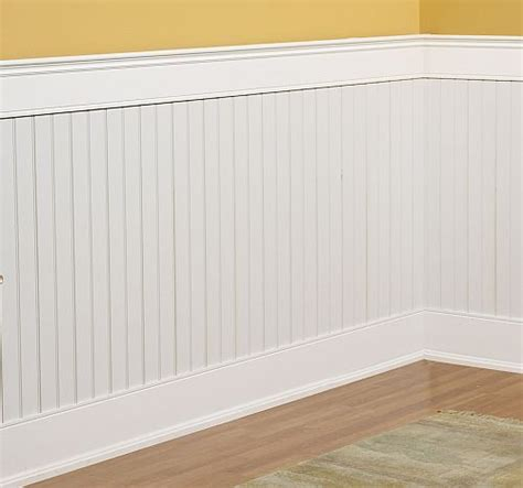 Composite Wainscoting Panels Beadboard Wainscoting Kit 4x8 Ebay