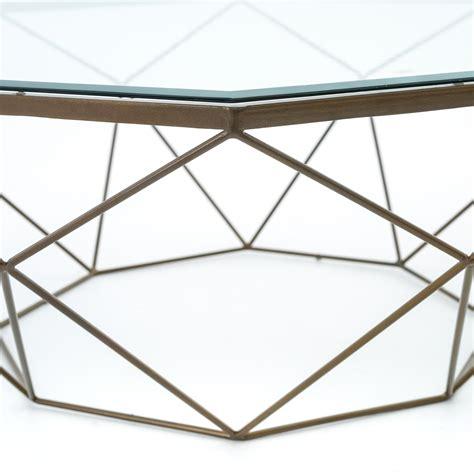 geometric glass coffee table brass coffee table geometric coffee table palette
