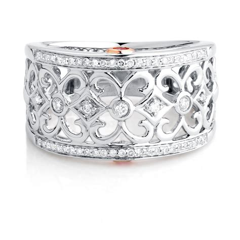 exclusive michael hill designer ring with 0 20