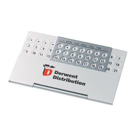 aluminium perpetual desk calendar promotional