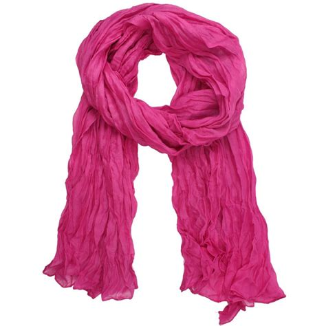 solid color crinkle scarf only 2 70 free shipping