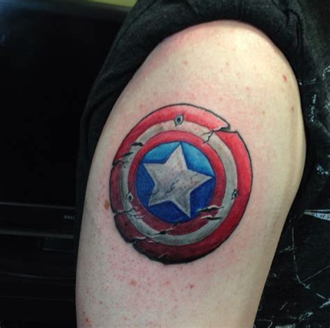 captain america shield tattoo designs captain america tattoos designs ideas and meaning